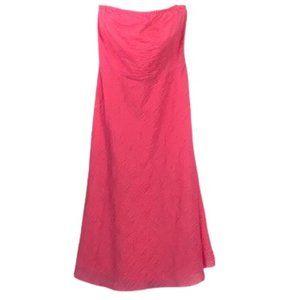 J.CREW - Pink Strapless Dress - Size 0